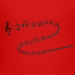 Musical Notes - Toddler Premium T-Shirt