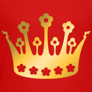 staff-king-vip-golden-crown-roya-goldl-boss-logo - Toddler Premium T-Shirt