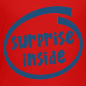 surprise inside (1824C) - Toddler Premium T-Shirt