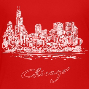 Chicago City - United States - Toddler Premium T-Shirt