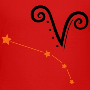Astrological zodiac, aries - Toddler Premium T-Shirt