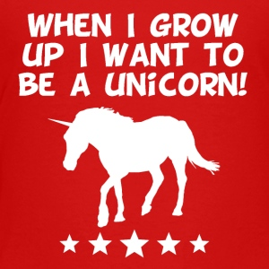 I Want To Be A Unicorn - Toddler Premium T-Shirt