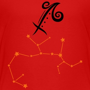 Astrological zodiac, sagittarius - Toddler Premium T-Shirt