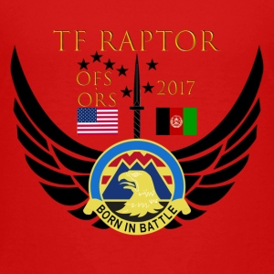 Task Force Raptor Deployment Crest - Toddler Premium T-Shirt