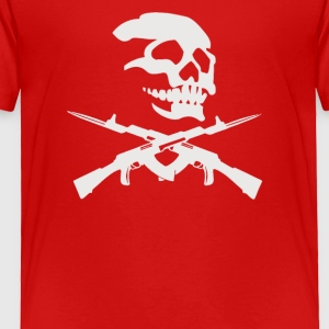 OLD WEST SKULL AND REVOLVERS - Toddler Premium T-Shirt