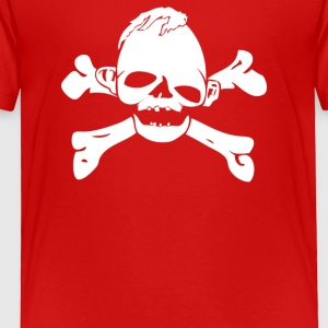 Pirates Freak Bones - Toddler Premium T-Shirt