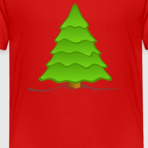 Christmas Nature Picture - Toddler Premium T-Shirt