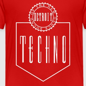 Bargain The New Dance Sound Detroit Techno - Toddler Premium T-Shirt