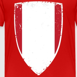 Flag of Peru - Toddler Premium T-Shirt