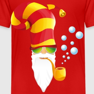 head-hilarious-cool-santa - Toddler Premium T-Shirt