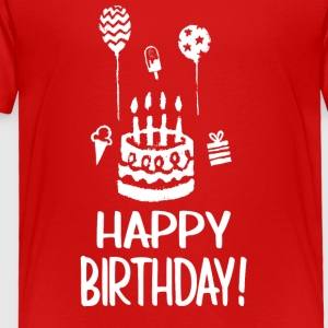 Happy Birthday - Toddler Premium T-Shirt