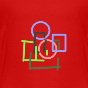 Colourful Geometry - Toddler Premium T-Shirt