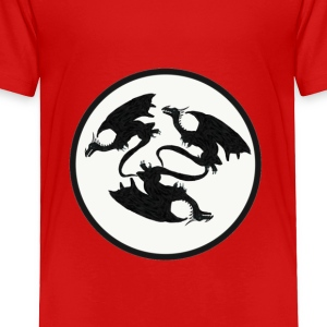 Dragon's chasing each other's tail - Toddler Premium T-Shirt