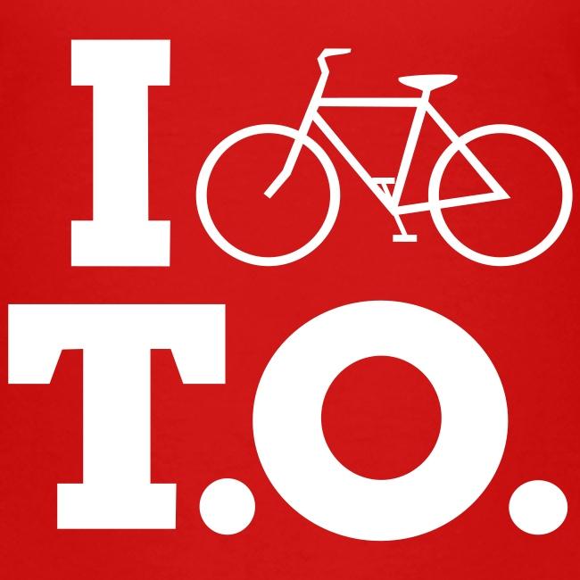 Toddler I Bike T.O. shirt