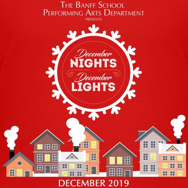 December Nights, December Lights K-5 Show Shirt
