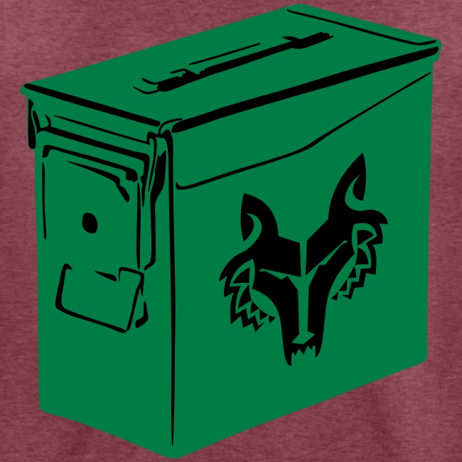 Ammo Can Wolf