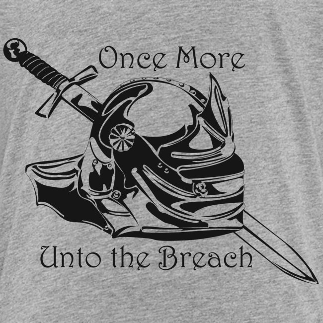 Once More... Unto the Breach Medieval T-shirt