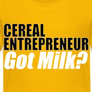 Inspire Me Cereal Entreprenuer - Toddler Premium T-Shirt