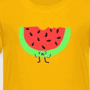 Sad Watermelon - Toddler Premium T-Shirt