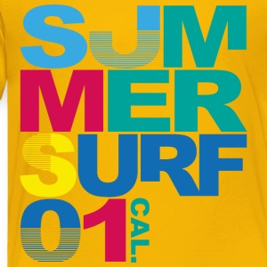 summer-surf-cool-image-inscriptions - Toddler Premium T-Shirt