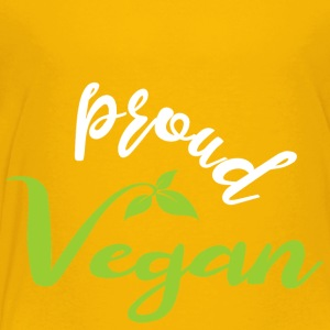 Proud Vegan - Toddler Premium T-Shirt