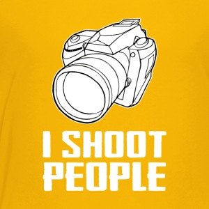 Camera I Shoot People - Toddler Premium T-Shirt