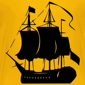 Pirate old ship - Toddler Premium T-Shirt