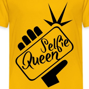 Selfie_Queen - Toddler Premium T-Shirt