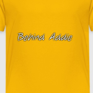 Basic Channel Name - Toddler Premium T-Shirt
