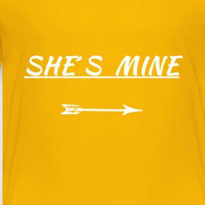 she´s mine - Toddler Premium T-Shirt