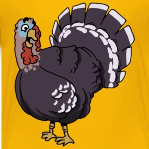 turkey gobbler turkeycock - Toddler Premium T-Shirt