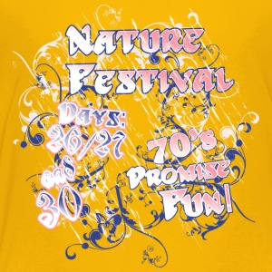 Nature festival seventies - Toddler Premium T-Shirt