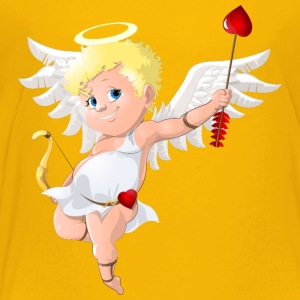 cupid-heart-onion-smile-wings - Toddler Premium T-Shirt