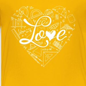 Love Math Shirts - Toddler Premium T-Shirt