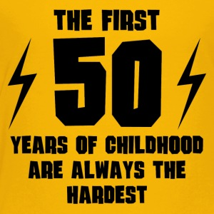 The First 50 Years Of Childhood - Toddler Premium T-Shirt