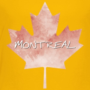 Maple Leaf Montreal - Toddler Premium T-Shirt