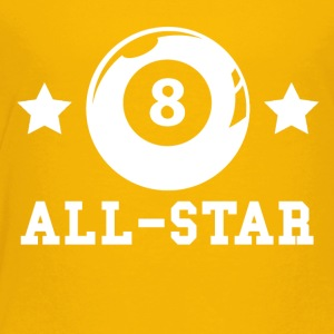 Billiards All Star - Toddler Premium T-Shirt