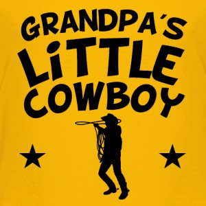 Grandpa's Little Cowboy - Toddler Premium T-Shirt