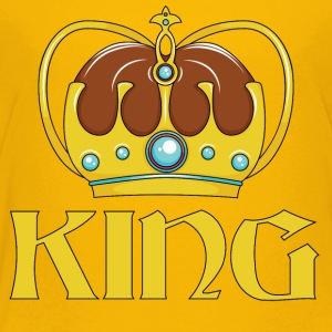 KING CROWN - Toddler Premium T-Shirt