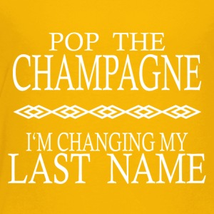 POP THE CHAMPAGNE STAG NIGHT HEN NIGHT - Toddler Premium T-Shirt