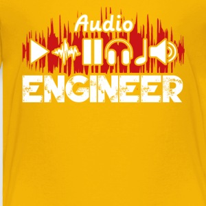 Audio Engineer Tee Shirt - Toddler Premium T-Shirt