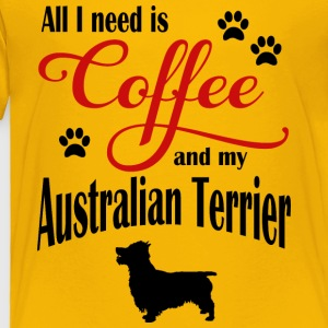 Australien Terrier Coffee - Toddler Premium T-Shirt