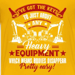 Heavy Equipment Operator Pretty Easy Shirt - Toddler Premium T-Shirt