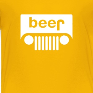 Beerjeep Offroading Funny T-shirt - Toddler Premium T-Shirt