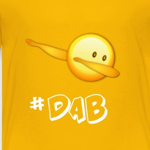 dab Emojiii Emoticon Football dabbing touchdown - Toddler Premium T-Shirt