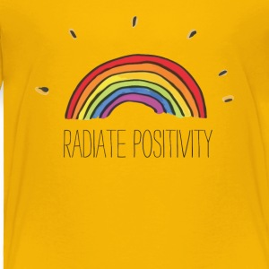Radiate Positivity - Toddler Premium T-Shirt