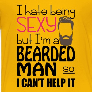 Sexy Bearded Man Funny Tee Shirt - Toddler Premium T-Shirt