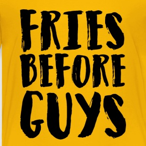 Fries before guys Artboard 1 - Toddler Premium T-Shirt