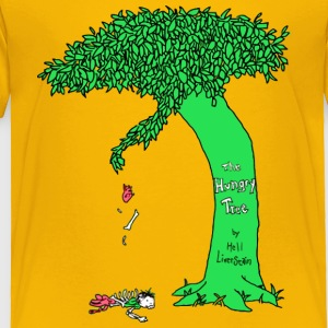 The Hungry Tree - Toddler Premium T-Shirt