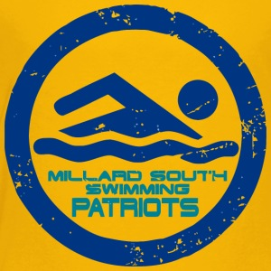 MILLARD SOUTH SWIMMING PATRIOTS - Toddler Premium T-Shirt